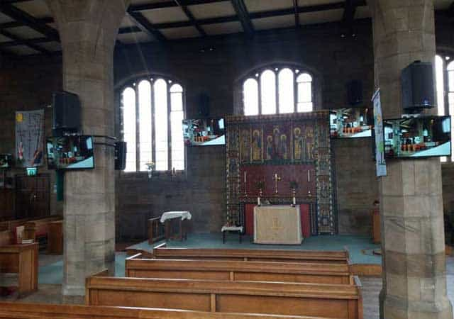 Installations for churches