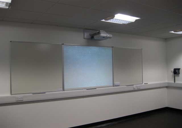 UST projector installation